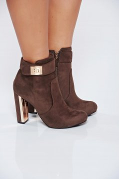 Top Secret S024688 LightBrown Ankle Boots