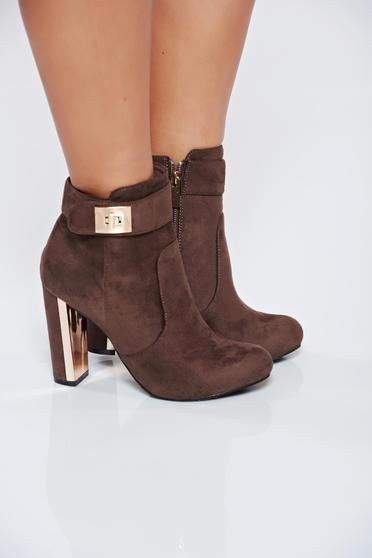 Top Secret S024688 LightBrown Ankle Boots