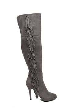 Top Secret S024689 Grey Boots