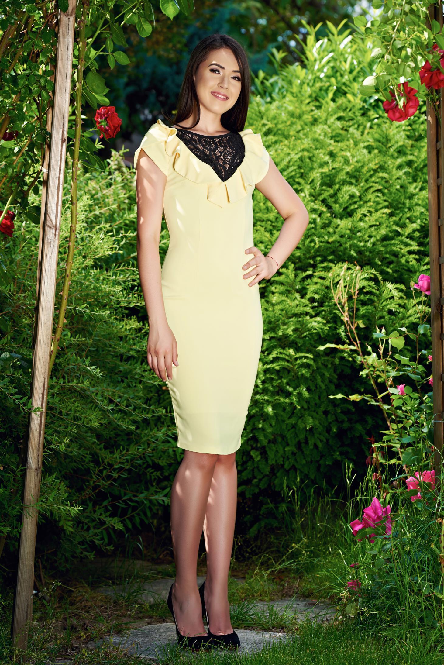 Rochie LaDonna Dairy Queen Yellow