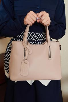 Solemnity Love Cream Leather Bag