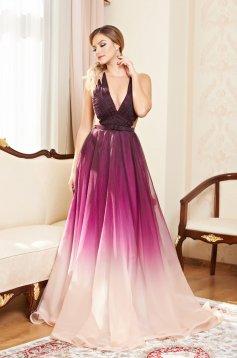 Ana Radu Impression Purple Dress