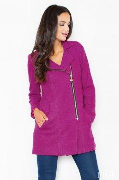 S024990 Fuchsia Coat