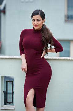 StarShinerS Gorgeous Figure Burgundy Dress