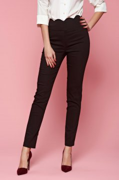Fofy Perfect Line DarkBrown Trousers