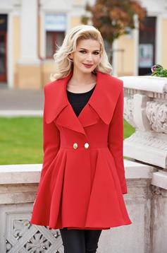 Trench Artista Angel Fall Red