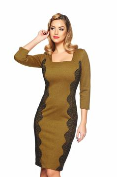 Fall Love Brown Dress