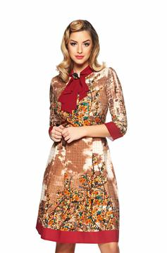 LaDonna Office Charm Brown Dress