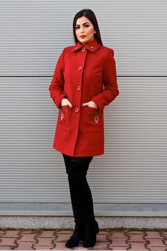 LaDonna Fabulous Winter Burgundy Coat