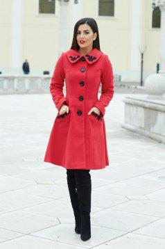 LaDonna Splendid Style Red Coat