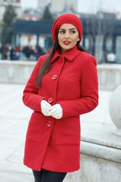 LaDonna Best Emotion Red Coat