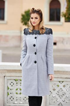 LaDonna Select Lady Grey Coat