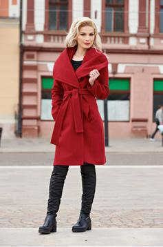 LaDonna Fashion Addict Burgundy Coat