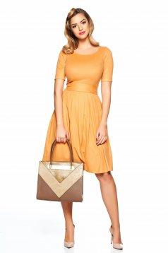 PrettyGirl Love Emotion Orange Dress