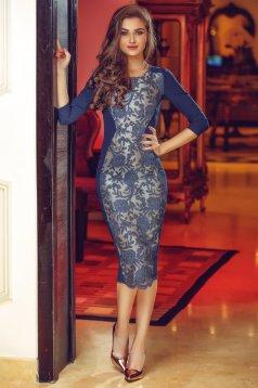 StarShinerS Theo Rose Masterpiece DarkBlue Dress