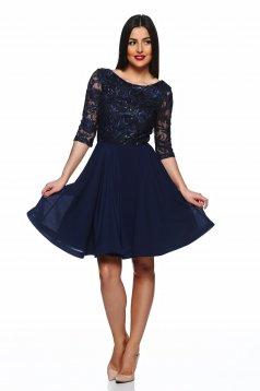 StarShinerS Stylish Party DarkBlue Dress