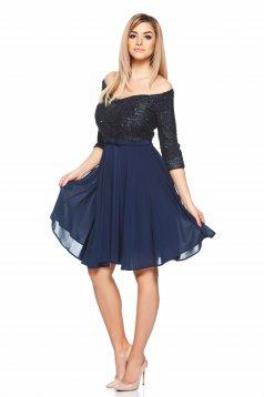 StarShinerS Theo Rose Sparkle DarkBlue Dress