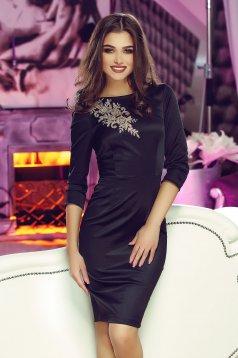 StarShinerS Theo Rose Powerful Black Dress