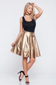 StarShinerS Kaleidoscop Charm Gold Skirt