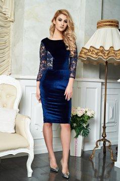 StarShinerS Theo Rose Perfection DarkBlue Dress