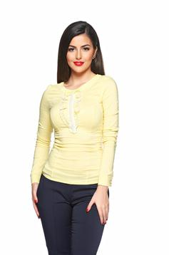 Fofy Distinguished Lady Yellow Shirt