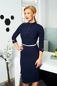 PrettyGirl Timeless Casual DarkBlue Dress