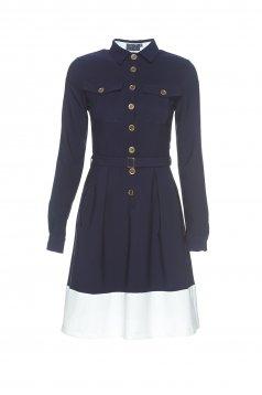 PrettyGirl Wonderful Style DarkBlue Dress