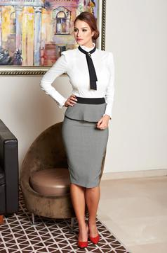 Fofy Style Lady Black Skirt