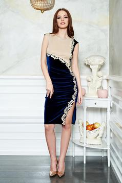 Fofy Nymphaea DarkBlue Dress