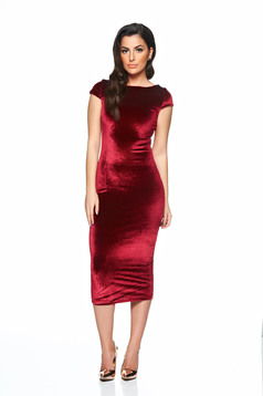 StarShinerS Party Time Burgundy Dress