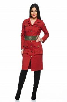 PrettyGirl Soldier Brown Dress