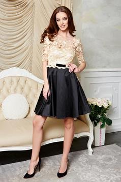 StarShinerS Imperial Lace Black Dress