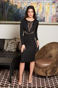 Fofy Chic Definition Black Dress