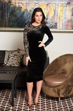 Fofy Surrender Black Dress
