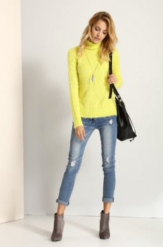 Top Secret S025613 Yellow Sweater