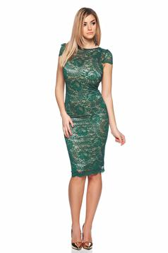 Fofy Mirific Illusion Green Dress