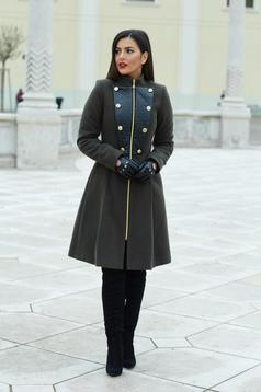 LaDonna Military Lady DarkGreen Coat