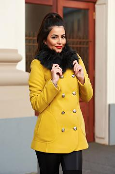 LaDonna Stylish Season Yellow Coat
