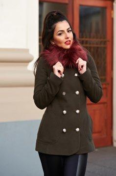 LaDonna Stylish Season DarkGreen Coat