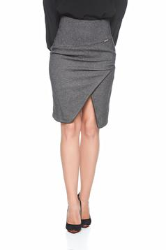 PrettyGirl Timeless Look DarkGrey Skirt