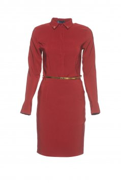 PrettyGirl Perfect Elite Burgundy Dress