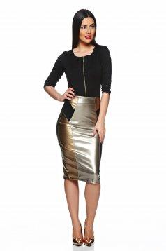 StarShinerS Kaleidoscop Magic Black Skirt