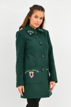 LaDonna Fabulous Winter Green Coat
