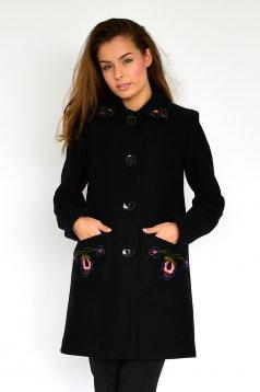 LaDonna Fabulous Winter Black Coat
