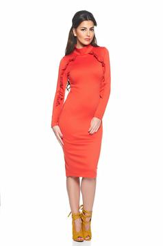 StarShinerS Vogue Celebrity Coral Dress