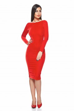 Fofy Lovely Sensation Red Dress