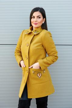 LaDonna Fabulous Winter Yellow Coat