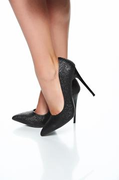 Sparkling Dream Black Shoes