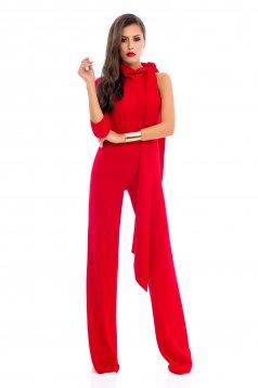 Ana Radu Miss Brilliance Red Jumpsuit