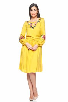 LaDonna Autumn Beauty Yellow Dress